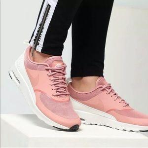 Women's Nike Air Max Thea Rust Pink Sneakers NWT
